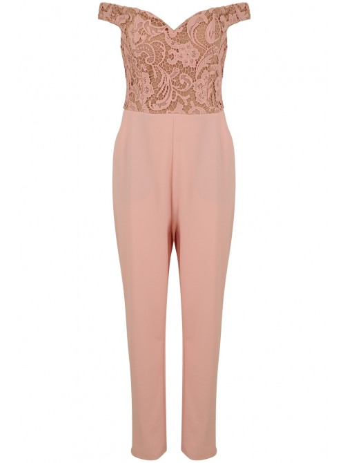 Renee Pink Rose Jumpsuit