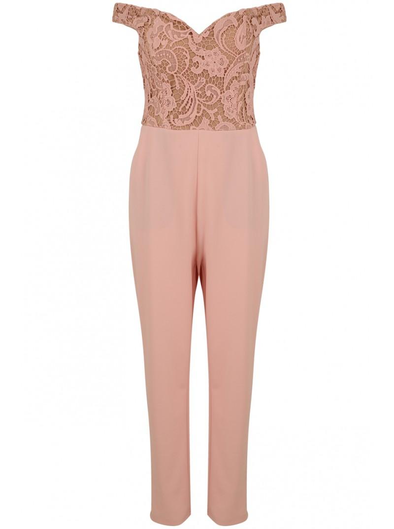 Renee Pink Rose Jumpsuit