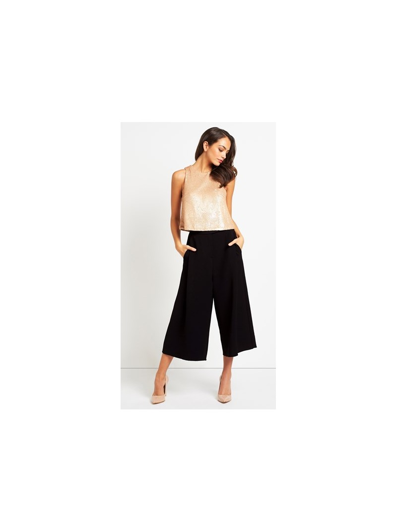 5a39eb72a4c Ava b.young black culottes with pockets