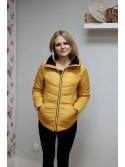 Jessica b.Young mustard puffer jacket