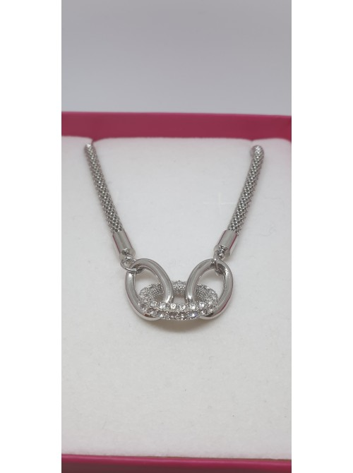 Matisse Silver Rope link Chain