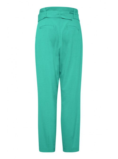 Danielle Emerald Green Belted Pants/Trousers by Byoung
