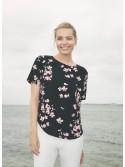 Sienna Cherry Blossom Print Tshirt top blouse
