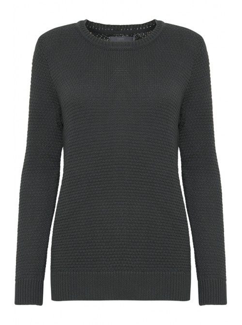 Rebecca Urban Chic Grey Structure Jumper by B.young