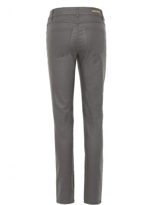 Chloe Peat Green wetlook skinny jeans by Byoung