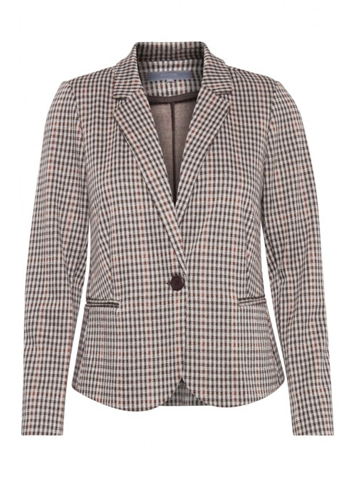 Sienna Chocolate Brown Blazer Jacket by B.young