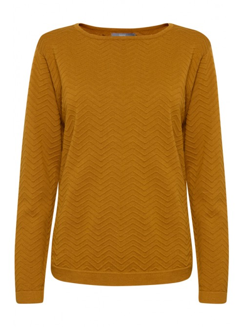 Sophia Golden Oak Pattern Jumper by B.young