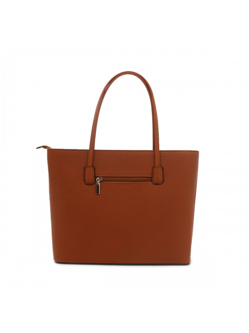Clara handbag with bow detail tote bag in Brown