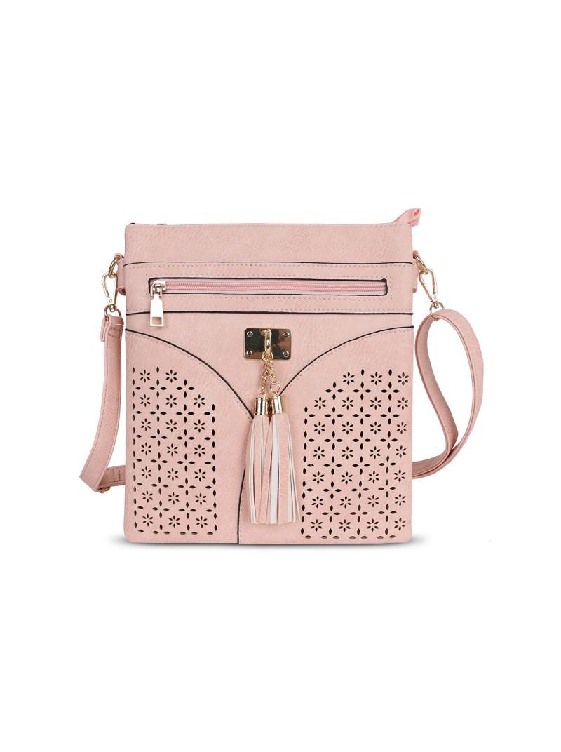 Tara Cross Body Bag in Pink