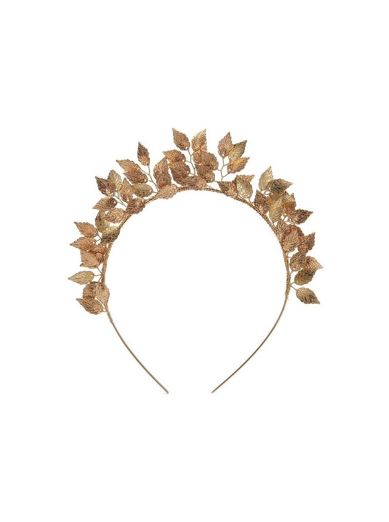 Gold Laurel Leaf Hair Crown