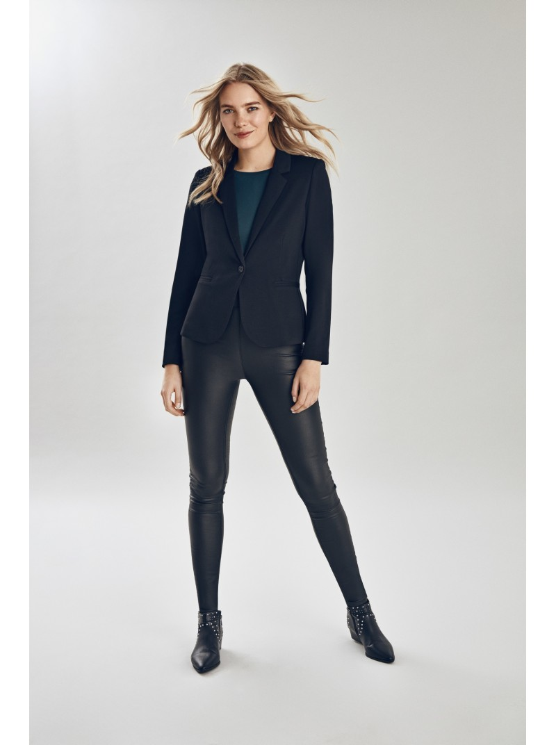 leona black Blazer jacket from bYoung