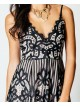 Ciara Strappy Lace V Neck Playsuit