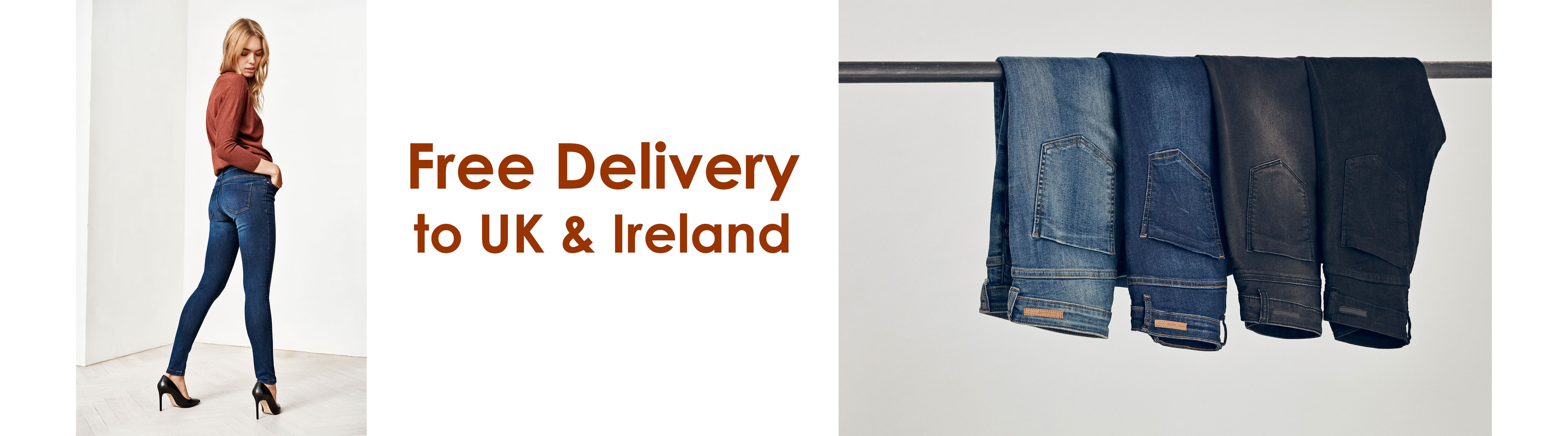 Belle De Paris Boutique - Shop Jeans and Trousers - Worldwide Delivery available - Free Delivery to UK and Ireland